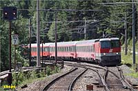 departing from Semmering