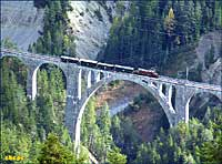 Wiesener Viaduct from above